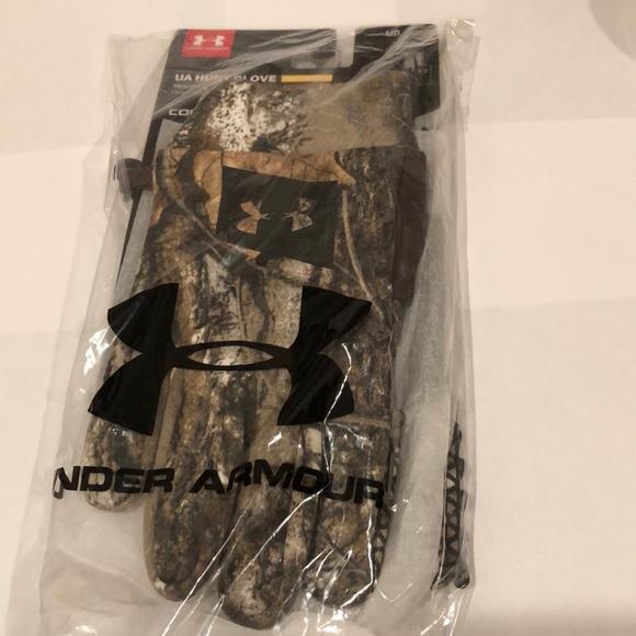 NEW Under Armour 1282774 Men No Breaks Coldgear Infrared Winter Fleece Gloves